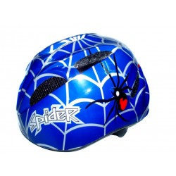Coyote Kids Spider Helmet | Blue | Small 48-52cm
