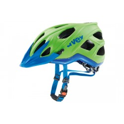 Uvex Stivo By Raleigh | Mountain Bike Helmet | Green/Blue