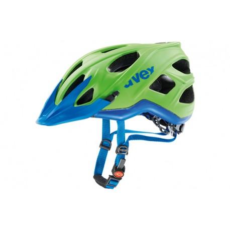 Uvex Stivo By Raleigh   Mountain Bike Helmet   Green/Blue