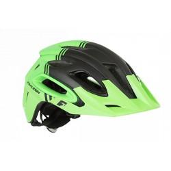 Raleigh Magni Helmet - Green/Black - Super Light Construction