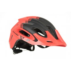 Raleigh Magni Helmet - Red/Black - Super Light Construction