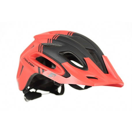 Raleigh Magni Helmet | Red/Black | Super Light Construction