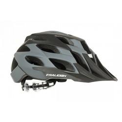 Raleigh TYR MTB Helmet - Grey - Removable Visor