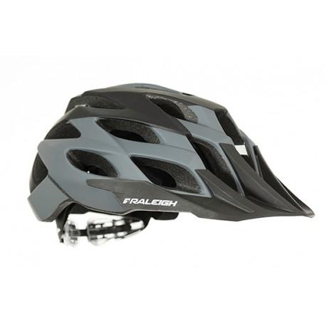 Raleigh TYR MTB Helmet | Grey | Removable Visor