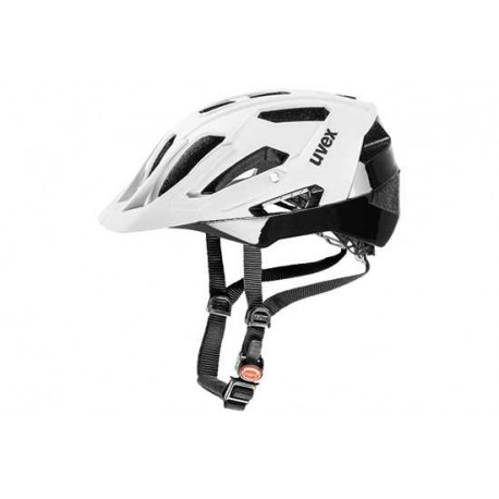 Raleigh Uvex Quatro Helmet | 17 ventilation channels | White/Black