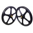 "Graphite Skyway Tuff   20"" BMX Mag Wheels   Sealed Bearings"
