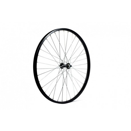 Wilkinson Mountain Bike Wheel   26 X 1.75   Black Solid Axle   Front Wheel