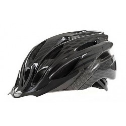 Raleigh Mission | Cycle Helmet | Black/Silver