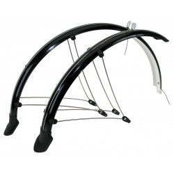 "Mountain Bike 26"" 65mm Full Mudguard Set 