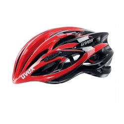 Uvex Race 1 | Bike Helmet 51-55cm | Red-Black | Bikes24-7.com
