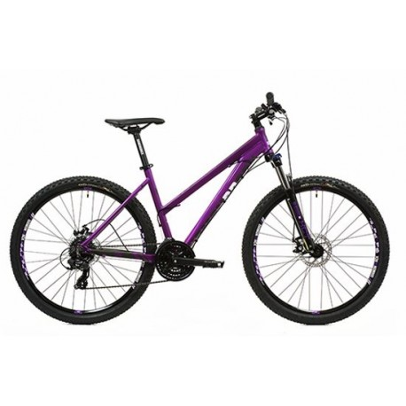 "Diamondback Sync 2.0 | Womens Hardtail Mountain Bike | 27.5"" Wheel | Purple Frame"