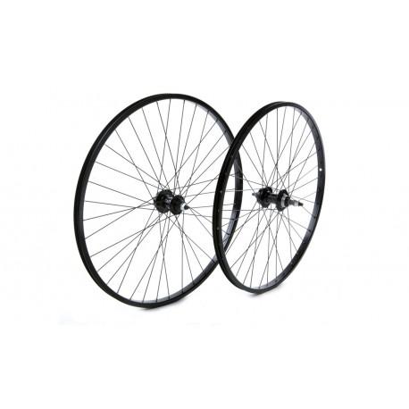 "Raleigh Trubuild | 26x1.75"" Front Wheel | Alloy Hub | Black"