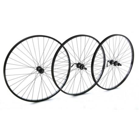 "Raleigh Trubuild | 26 x 1.75"" Wheel | Black | Quick Release"