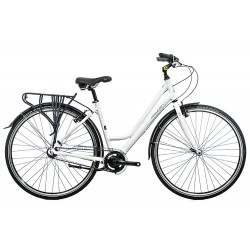 Raleigh Pioneer 3 | Ladies Hybrid Bike | 3 Speed | White Frame