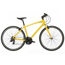 Raleigh Strada 1 | Corssbar Frame | Yellow | Hyrbrid