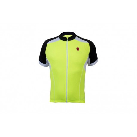 Lusso Linea Jersey | Short Sleeve | Red | Bikes24-7.com