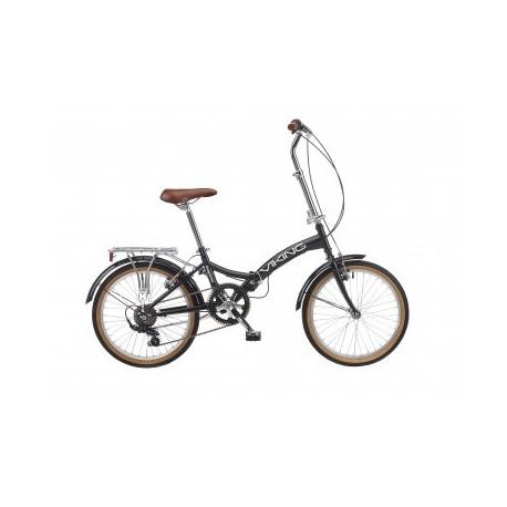 "Viking Easy Street | 6 Speed | 20"" Wheel | Black Folding Bike"