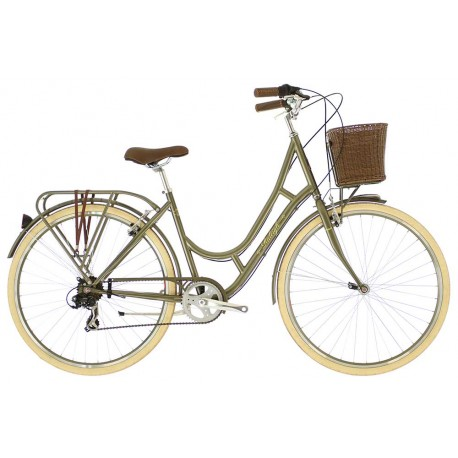 Raleigh Cameo | Ladies Heritage Bike | Moss Green Frame | 7 Speed