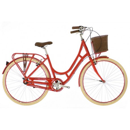 Raleigh Spirit | Ladies Heritage Bike | 3 Speed | Red Frame
