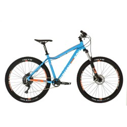 Diamondback Heist 1.0 | Hardtail Mountain Bike | Blue Or 2018 Green Frame