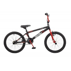 "Rooster Radical | BMX | Black and Red | 20"" Wheel"