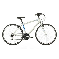 Raleigh Circa 1 |Hybrid Bike | Silver Frame | Bikes24-7.com