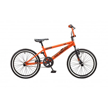 "Rooster Big Daddy | BMX | Black and Orange | 20"" Wheel"