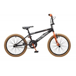 "Rooster Big Daddy | BMX | Black, Orange and Brown | 20"" Wheel"