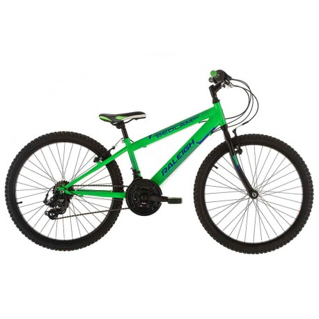"Raleigh Bedlam 24 | Children's Mountain Bike | 24"" Wheel 