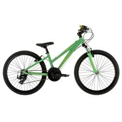 Raleigh Eva 24 | Children's Mountain Bike | Green Frame | 6 Speed