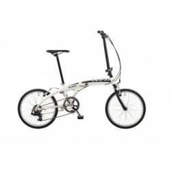 Viking Westlake | White Folding Bike | 6 Speed