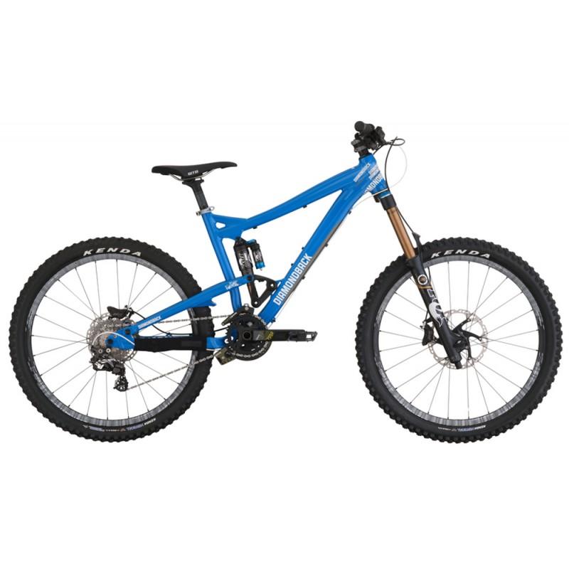 Diamondback Scapegoat Mountain Bike Blue Frame Front