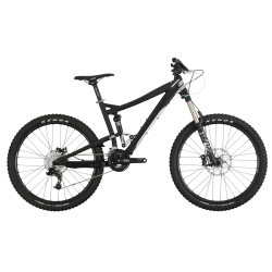 Diamondback Mission | Full Suspension | Mountain Bike | Black and White