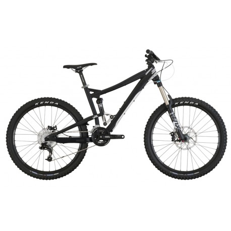 Diamondback Mission | Full Suspension | Mountain Bike | Black and White