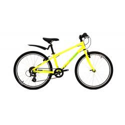 "Raleigh Performance 24   24"" Wheel Childrens Bike   Yellow Frame"