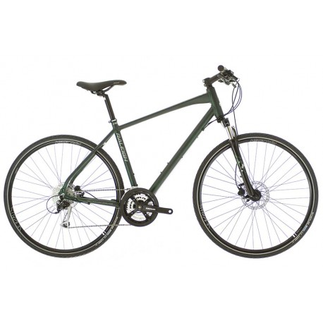 Raleigh Strada TS 3 | 700C Wheel | 27 Speed | Green Frame