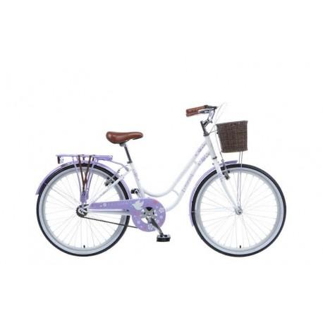 Viking Paloma | Ladies Heritage Bike | White Frame