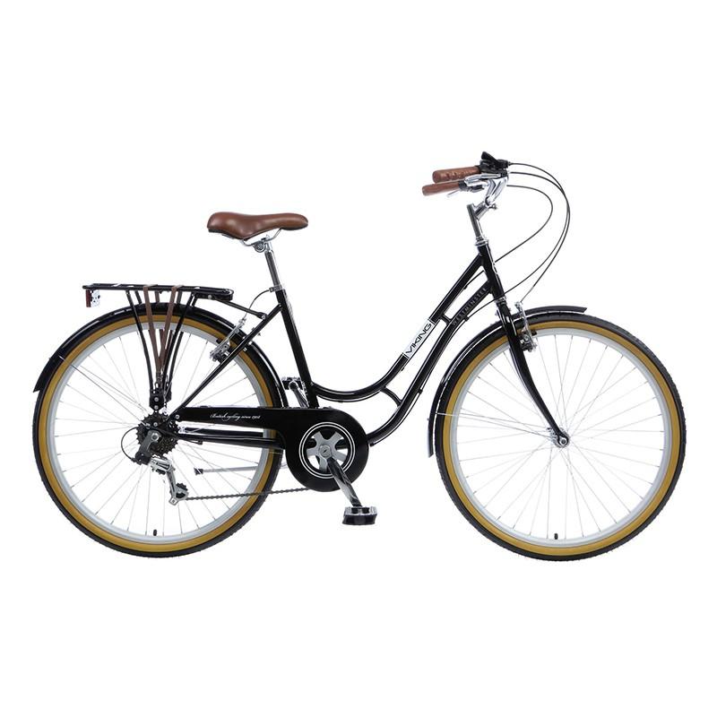 Viking Westminster Ladies Heritage Bike Black 18 Frame 6 Speed
