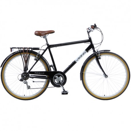 "Viking Westminster | Gents Heritage Bike | Black 18"" Frame 