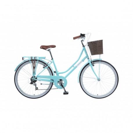 "Viking Belgravia | Ladies Heritage Bike | 26"" Wheel | Aqua Frame"