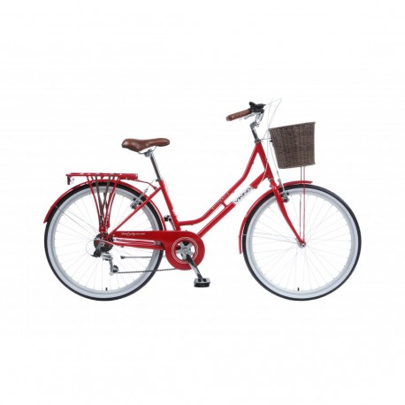 "Viking Belgravia | Ladies Heritage Bike | 26"" Wheel | Red Frame"