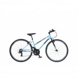 "Viking Bourbon Street | Urban Sports Bike | Matt Blue Ladies Frame| 16"" and 19"""