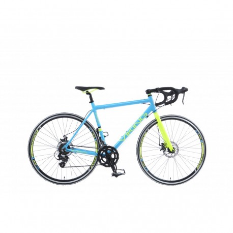 Viking Scirocco 300| Racing Bike | Blue and Yellow Frame | 14 Speed