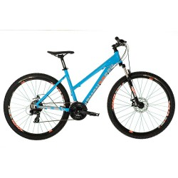 "Diamondback Sync 1.0 | Light Blue Ladies Frame | 27.5"" Wheel 