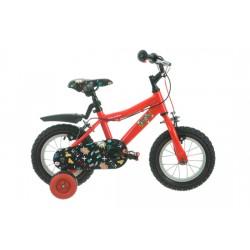"Raleigh Atom 12   Childrens Bike   12"" Wheel   Red Frame"