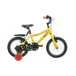 "Raleigh Atom 14   Childrens Bike   14"" Wheel   Yellow Frame"
