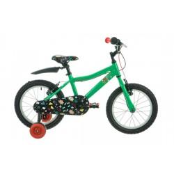 "Raleigh Atom 16   Childrens Bike   16"" Wheel   Green Frame"