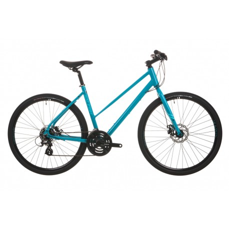 Raleigh Strada 2 | Urban Sports Bike | Blue Ladies Frame | 24 Speed