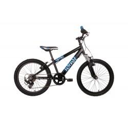 Raleigh Abstrakt 20| Boys Bike | Single Speed | 2018 Model | Black/Blue Frame
