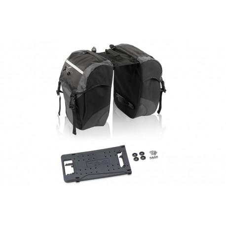 XLC Carrymore Double Pannier Bag | Bikes24-7.com | BA-S63 | £56